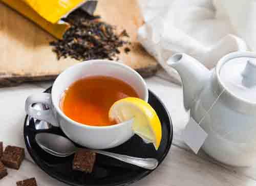 Capsaicin lemon tea