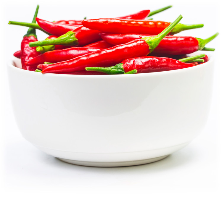 Bowl of Chilli peppers