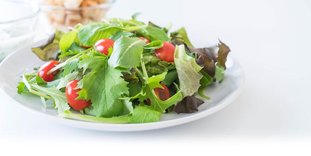Ginger soy salad