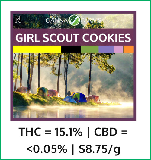 Girl Scout Cookies from CannaFarms
