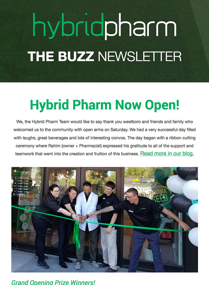 Hybrid Pharm The Buzz Newsleter # 1