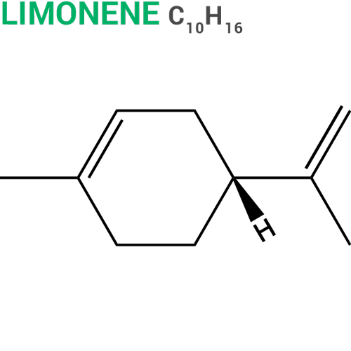 Limonene molecular structure